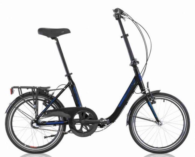 REVIENT ± 15/03/2018 Modèle moderne, cadre alu, 3 vit. Shimano Nexus 3, faible encombrement, V-brakes et leviers de frein alu, jantes et moyeux alu, tige de selle alu, pédales réversibles, selle Selle Royal Moody. - mesures vélo plié: Long 84cm, Larg 36cm et H 65cm - marchepied: 28 cm Poids: 14.5 kg