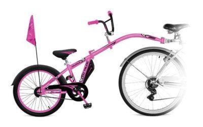 vélo suiveur-tandem-famille