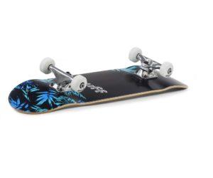 Skate-skatepark-street-sunrider85-ENU2930 Enuff Floral Blue Graphic Angle
