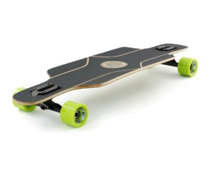 longboard- Mindless Raven II Green Black Grip Angle